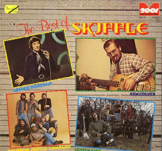 Albumcover Various GB-Artists - The Best of Skiffle