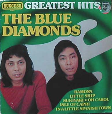 Albumcover Blue Diamonds - The Greatest Hits