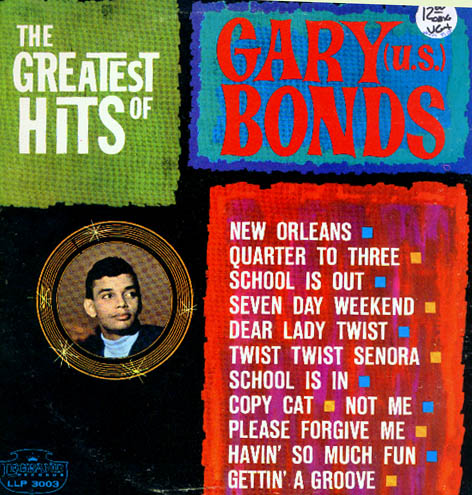 Albumcover (Gary) U.S. Bonds - The Greatest Hits of