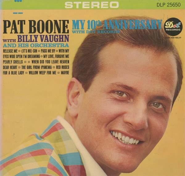 Albumcover Pat Boone - My 10th Anniversary with Dot Records