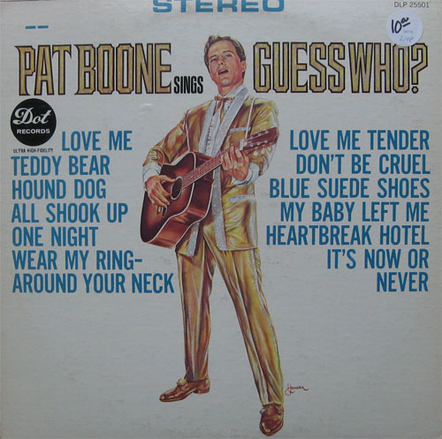 Albumcover Pat Boone - Guess Who