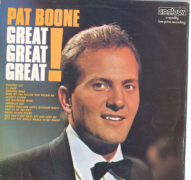 Albumcover Pat Boone - Great ! Great ! Great !