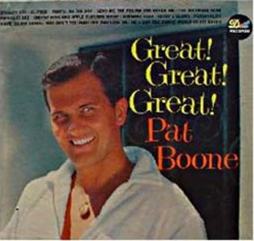 Albumcover Pat Boone - Great! Great! Great!