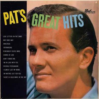 Albumcover Pat Boone - Pat´s Great Hits (stereo)