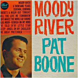 Albumcover Pat Boone - Moody River