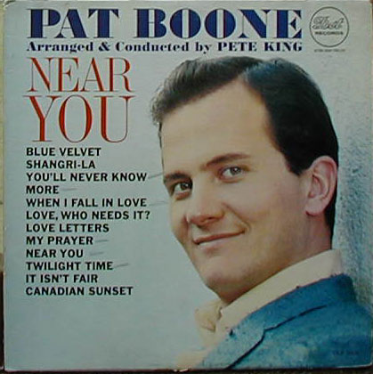 Albumcover Pat Boone - Near  You