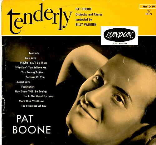 Albumcover Pat Boone - Tenderly
