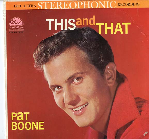Albumcover Pat Boone - This and That