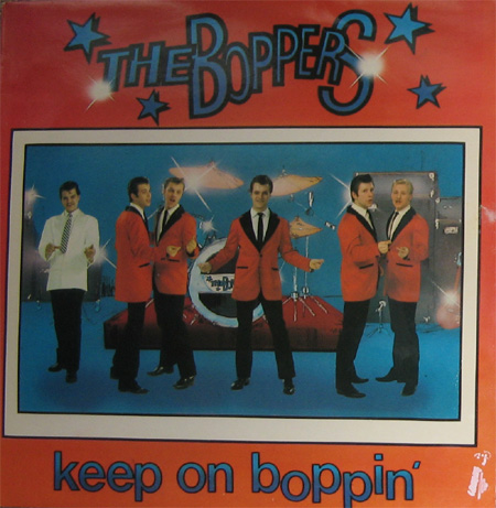 Albumcover The Boppers - Keep On Boppin