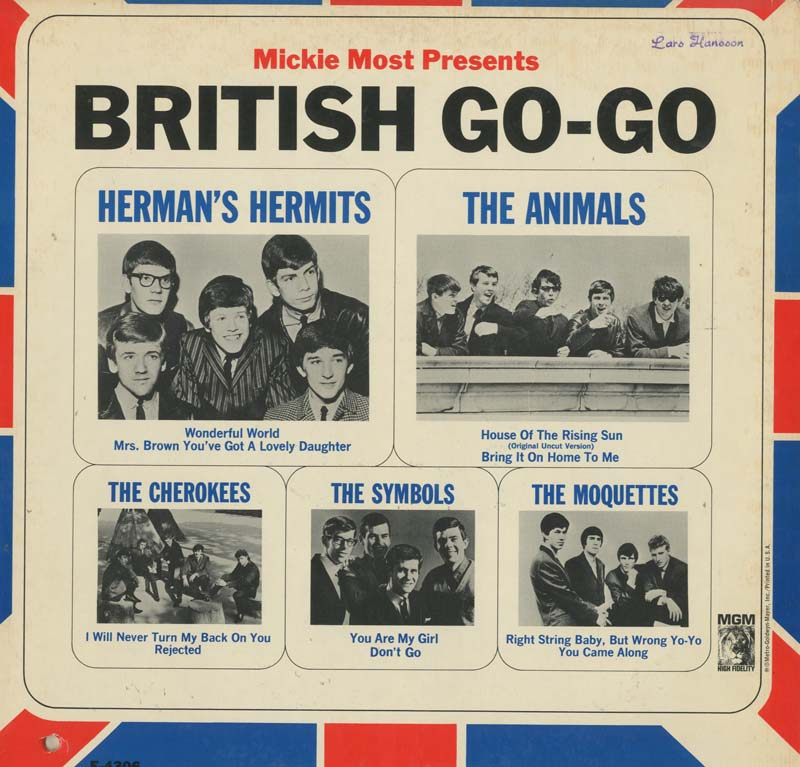 Albumcover Various GB-Artists - Micky Most Presents British Go-Go