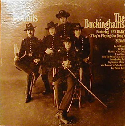 Albumcover The Buckinghams - Portraits - featuring Hey Baby (They´re Playing Our Song)