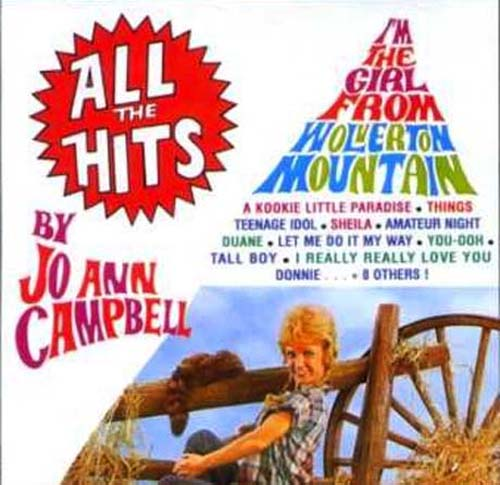 Albumcover Jo Ann Campbell - All the Hits