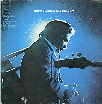 Albumcover Johnny Cash - At St. Quentin