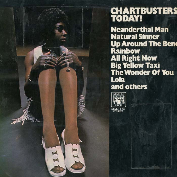 Albumcover Various GB-Artists - Chartbusters Today