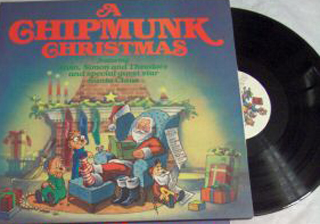 Albumcover The Chipmunks - A Chipmunk Chtistmas