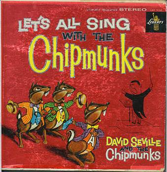 Albumcover The Chipmunks - Lets All Sing With The Chipmunks<br< David Seville And The Chipmunks