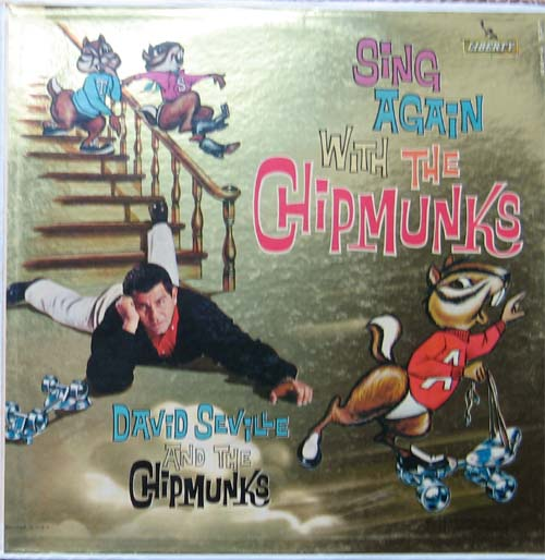 Albumcover The Chipmunks - Sing Again with The Chipmunks