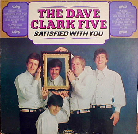 Albumcover Dave Clark Five - Satisfied With You