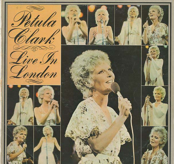 Albumcover Petula Clark - Live in London