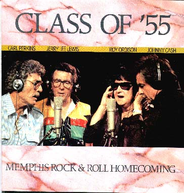Albumcover Carl Perkins, Jerry Lee Lewis, Roy Orbison, Johnny Cash - Class of ´55
