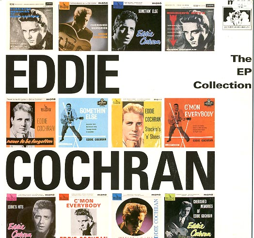 Albumcover Eddie Cochran - The EP Collection