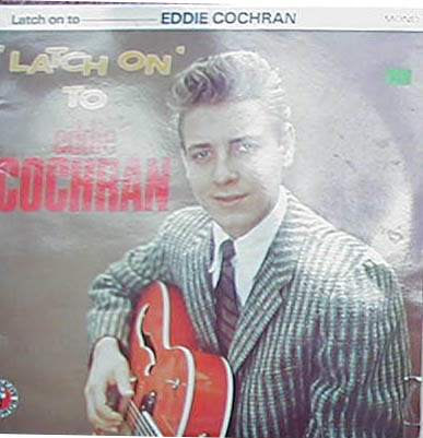 Albumcover Eddie Cochran - Latch On to Eddie Cochran (DLP)