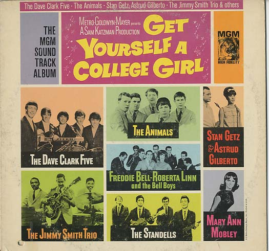 Albumcover Various Artists of the 60s - Get Yourself A College Girl