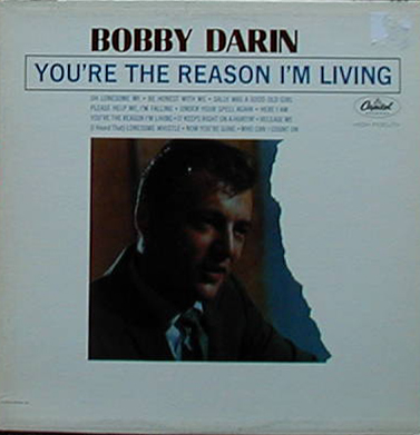 Albumcover Bobby Darin - You´re The Reason I´m Living