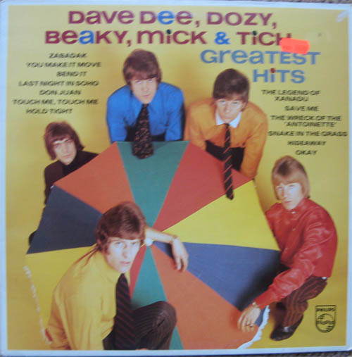 Albumcover Dave Dee, Dozy, Beaky, Mick & Tich - Greatest Hits