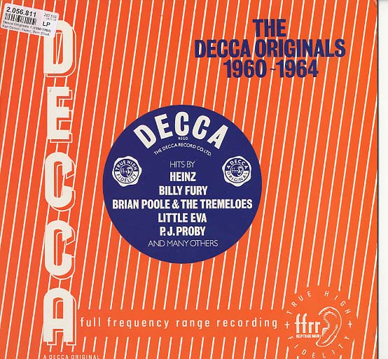 Albumcover DECCA UK Sampler - The Decca Originals 1960 - 1964