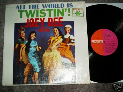 Albumcover Joey Dee and the Starlighters - All The World Is Twistin