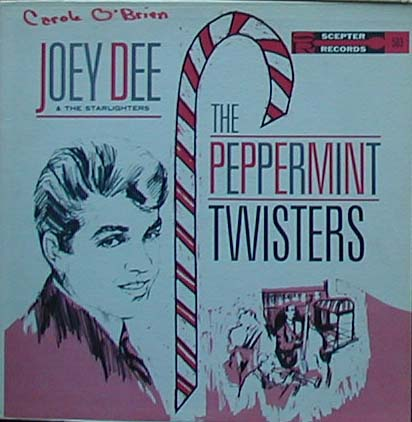Albumcover Joey Dee and the Starlighters - The Peppermint Twisters
