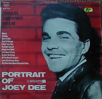 Albumcover Joey Dee and the Starlighters - Portrait Of Joey Dee