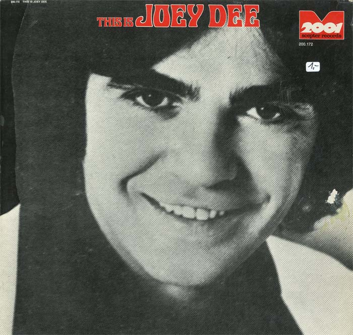 Albumcover Joey Dee and the Starlighters - This Is Joey Dee (2001)