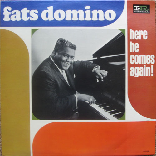 Albumcover Fats Domino - Here He Comes Again