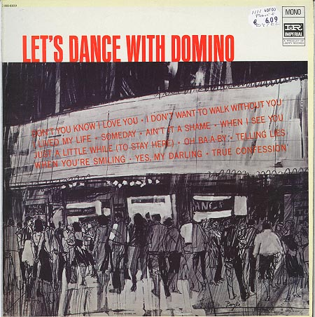 Albumcover Fats Domino - Let´s Dance With Domino