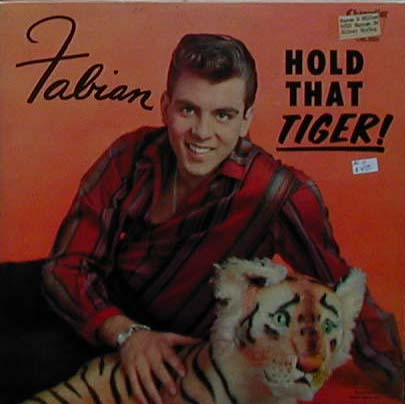 Albumcover Fabian - Hold That Tiger