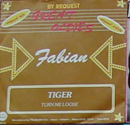 Albumcover Fabian - Tiger / Turn Me Loose