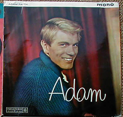 Albumcover Adam Faith - Adam