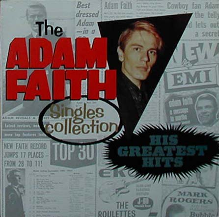 Albumcover Adam Faith - The Adam Faith Single Collection