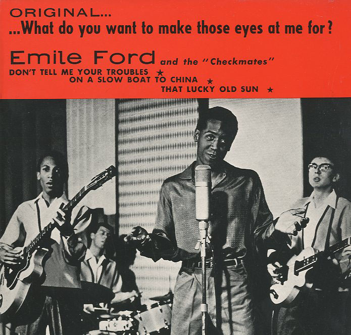 Albumcover Emile Ford - What Do You Want To Make Those Eyes At Me For
