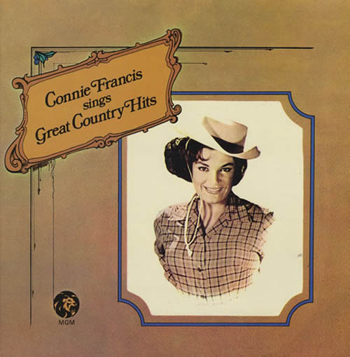 Albumcover Connie Francis - Sings Great Country Hits