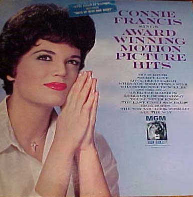 Albumcover Connie Francis - Sings Award Winning Motion Picture Hits