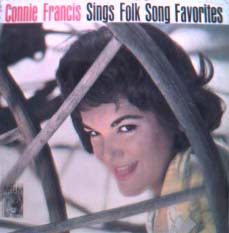 Albumcover Connie Francis - Sings Folk Songs Favorites