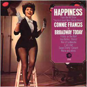 Albumcover Connie Francis - Happiness On Broadway Today