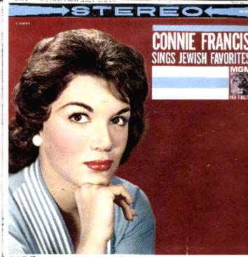 Albumcover Connie Francis - Sings Jewish Favorites