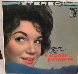 Albumcover Connie Francis - More Greatest Hits