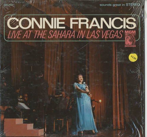 Albumcover Connie Francis - Live At The Sahara in Las Vegas