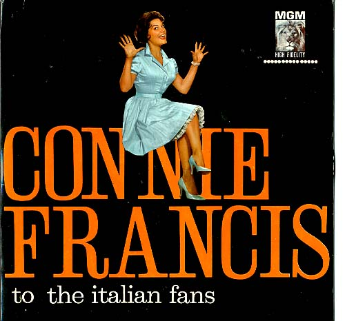 Albumcover Connie Francis - To The Italian Fans