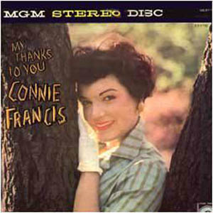 Albumcover Connie Francis - My Thanks To You